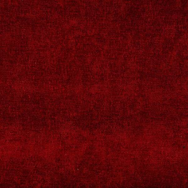 Winter Velvet Plain dark red
