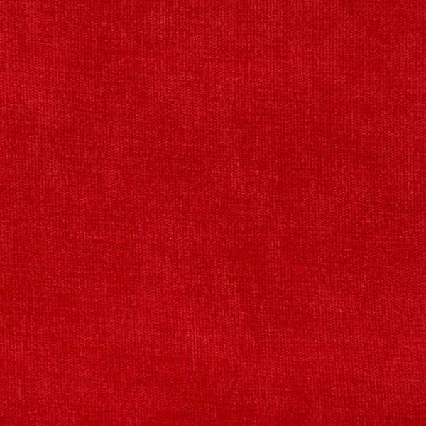 Winter Velvet Plain red